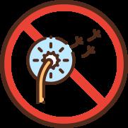 no allergeni icona