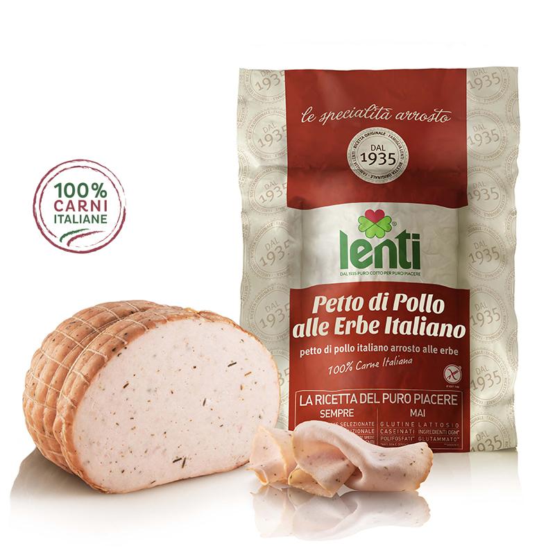 petto di pollo alle erbe italiana - 100% italiano