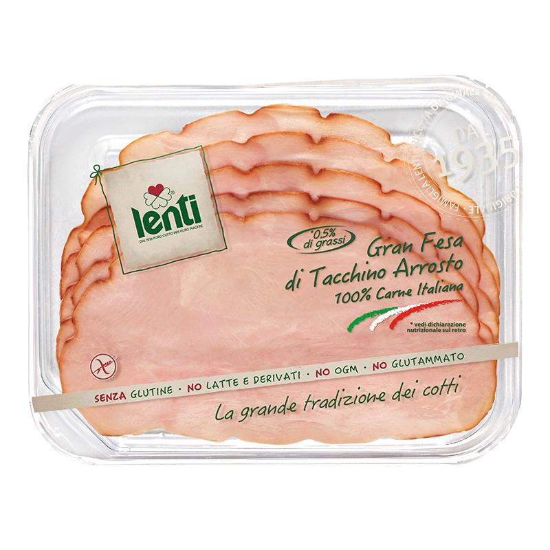 Gran Fesa di Tacchino Arrosto: 100% di carne italiana